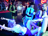 Noisy Night Club Party With Hot Bodied Sluts Is About To Turn Into An Orgy