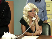 Hottie Ashlynn Brooke Takes Part In Funny Anchorman Sex Parody