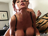 Busty Mature Woman Gets Fucked From Behind And In Sideways Position