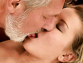 Mouth-watering Fresh Faced Girl Is Getting Banged Hard In Old Young Fuck Video