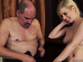 Old Man Is Pussy Licking In A Hot Old Young Porn Clip