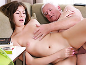 Mouth-watering Teen Rita Enjoys Young And Old Fuck Session