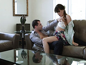Sex-hungry And Oversexed Babe Alison Rey Is Making Love With Her Boyfriend