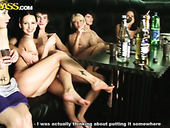 Naked Folks Party Hard In Sauna Before The Wild Group Sex Orgy