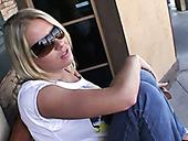 Gorgeous Blonde Milf Pornstar Riley Evans Looks Hot