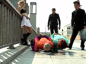 Complete Whore Mad Kate Is Punished And Jizzed In Public