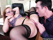 Katja Kassin Gets Her Pussy Licked And Wet On The Table