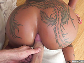 Bald Headed J Mac Fucks Bootyful Ebony Harlot Bella Bellz