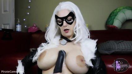 Cat Girl At Webcam Show