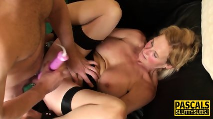 Mature Bound Sub Pounded