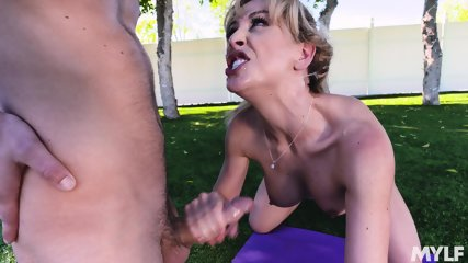 Cock Riding In Park