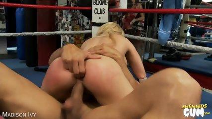 Blonde Madison Ivy Swallow Fresh Cum