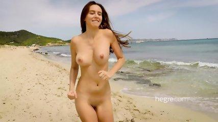 Alisa On Beach