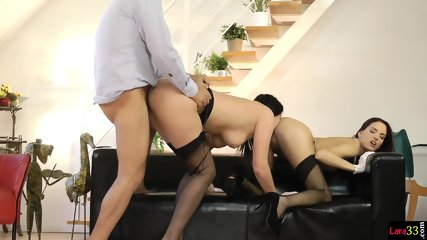 Doggystyled UK Milf Rimming Tight Teen
