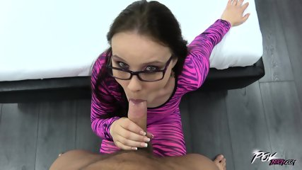 Pink Whore With Glasses Gets Pounded