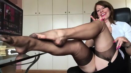 Short Clip From Hot German Nylon Mistress Anett Larmann
