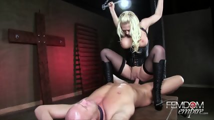 Riding On Slave's Dick