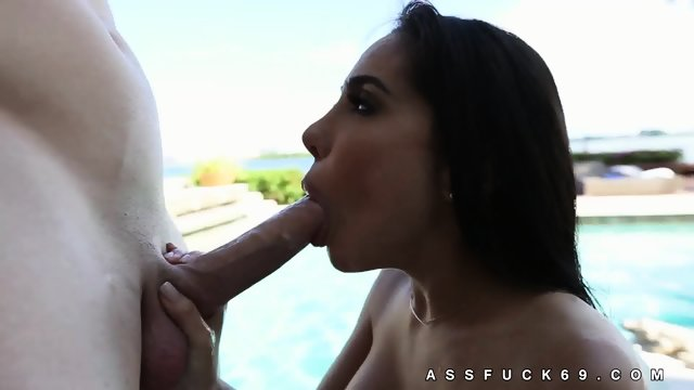 Lela Star Double Handed Cock Jerking