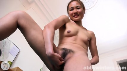 Asian Girl Plays With Her Pussy