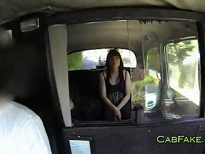 Nice Ass Brunette Fucks And Sucks In Cab