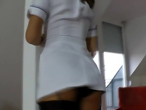 Brit Nurse Rides And Cocksucks Old Male