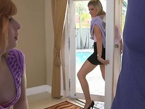 Sadie Kennedy Taught How To Fuck Properly By Her Stepmom