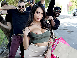 Huge Tits And Ass Kim K Gets Intensely Fucked And Jizzed