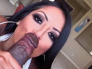 Hot Kiara Mia Sucks Lexington Steele Gigantic Black Cock