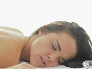 Sexy Brunette Teen Dillion Harper Get A Massage And Fucked