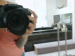 Tattooed Sexy Latina Gf Bangs In Sex Tape