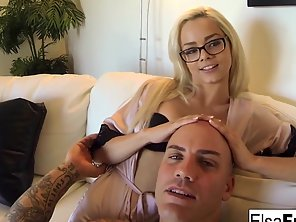 POV Fuck Session With Elsa Jean &amp Derrick Pierce