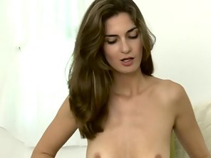 Tall Skinny Teen Toys Herself