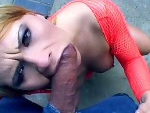 Dirty Blonde Whore Gets All Her Holes Nailed Hard By Two Horny Guys