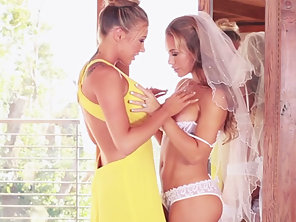 Lesbian Babes Nicole Aniston And Samantha Saint Loving Pussy Licking