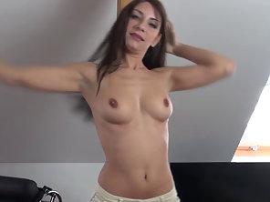 Babe Masturbates With Dildo
