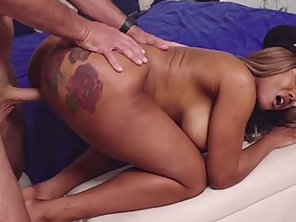 Bootylicious Ebony Police Officer Moriah Mills Screwed Hard
