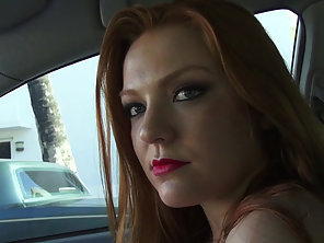 Sexy Redhead Farrah Flower Gets Her Pussy Fucked Hard From Behind
