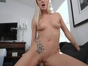 Blonde Victoria Letting Her Friend Fuck Her In The Ass For Revenge