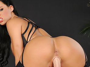 Huge Boobs Hottie Peta Jensen In Stockings Screwed Real Hard