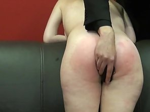 Spanked Amateur Slaves Brutal Blowjob And Rough Whipping Of Oral Submi