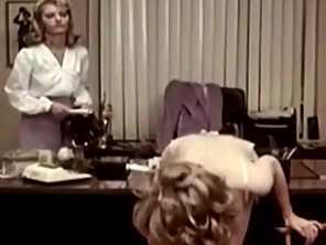 Hot Lesbian Vintage Strapon SEX