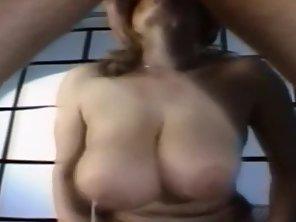 Retro Big Tits Deepthroat Threesome
