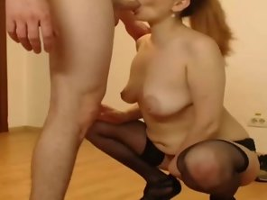 Amateur Babe Loves To Fuck By Her Man Until He Receive Cums