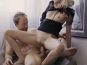 Blonde Babe Hime Marie Getting Fucked In Standing Position