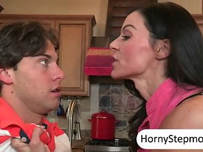 Kendra Lust Caught Katie St Ives Fucking Her BF In The Kitchen
