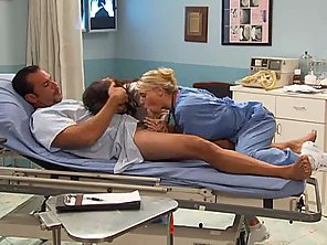 Hospital Crazyness With Hot Nurse Katie Morgan