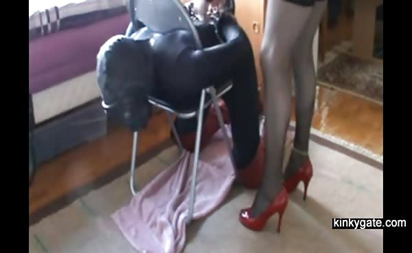 Femdom Humiliation With Strapon