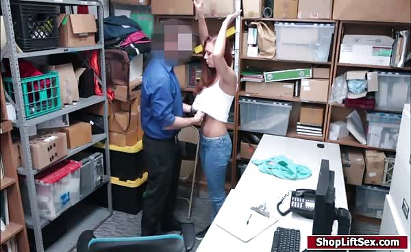 Czech Babe Banged Hard By Officer After Stealing Goods