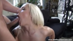 Blonde MIlF Anal Sex Technique