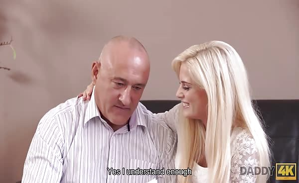 DADDY4K. Old Man Gladly Satisfies Teen's Appetite For…